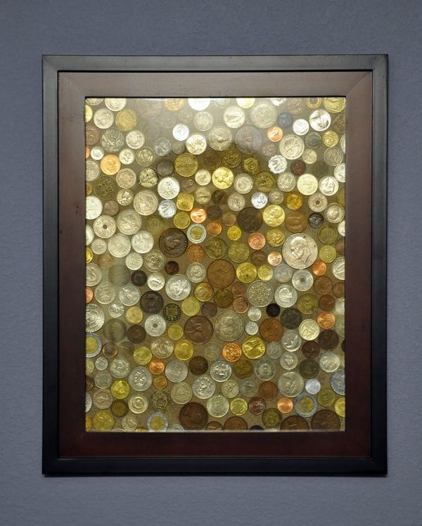 What to do with all those foreign coins youve saved.: Coin Art, Crafts Ideas, Good Ideas, Diy Crafts, Frames, Coins Art, Foreign Coins, Cool Ideas, Great Ideas