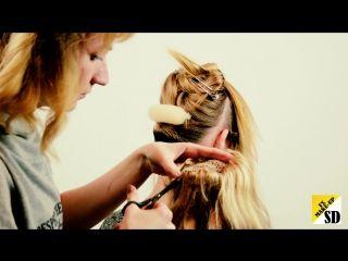Как использовать шиньен хвост в прическе .Как добавить искусственные волосы в прическу.Объемный хвост. Прическа хвостс длинные волнистые волосы , прическа с дополнительными прядями волос. Свадебные прически для длинных волос, прически на длинные волосы , идеально подходит на короткие волосы прически стиля Glam, романтические свадебные прически для длинных волос, как сделать свадебные прически для девушек Gorgeous Bridal Wedding Hairstyles Tutorials!Romantic Updo Hairstyle For Long Hair