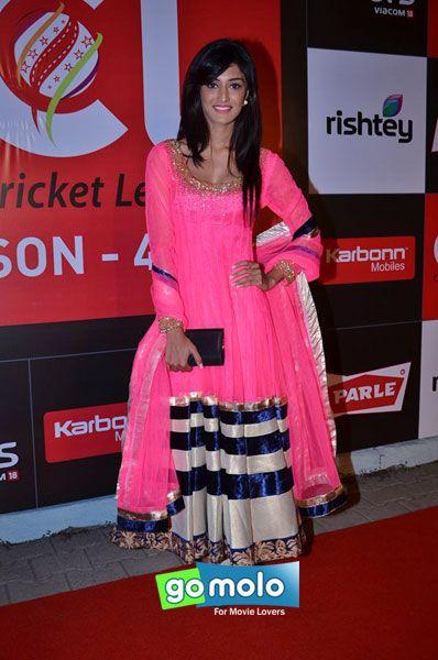 Erica Fernandes at the Launch of CCL Season 4 at Hotel Grand Hyatt in Mumbai