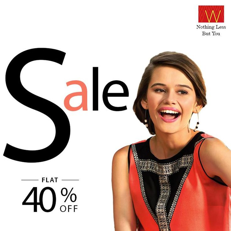 When #elegance comes at a #discount, it becomes a must have for your fashion wardrobe. Flat 40% off!  Walk into the nearest #Wstore to check more or check online : http://bit.ly/1njXexF