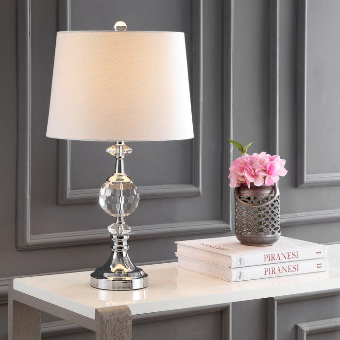 House Of Hampton Dhavale 26 Table Lamp Wayfair Led Table Lamp Metal Table Lamps Table Lamp