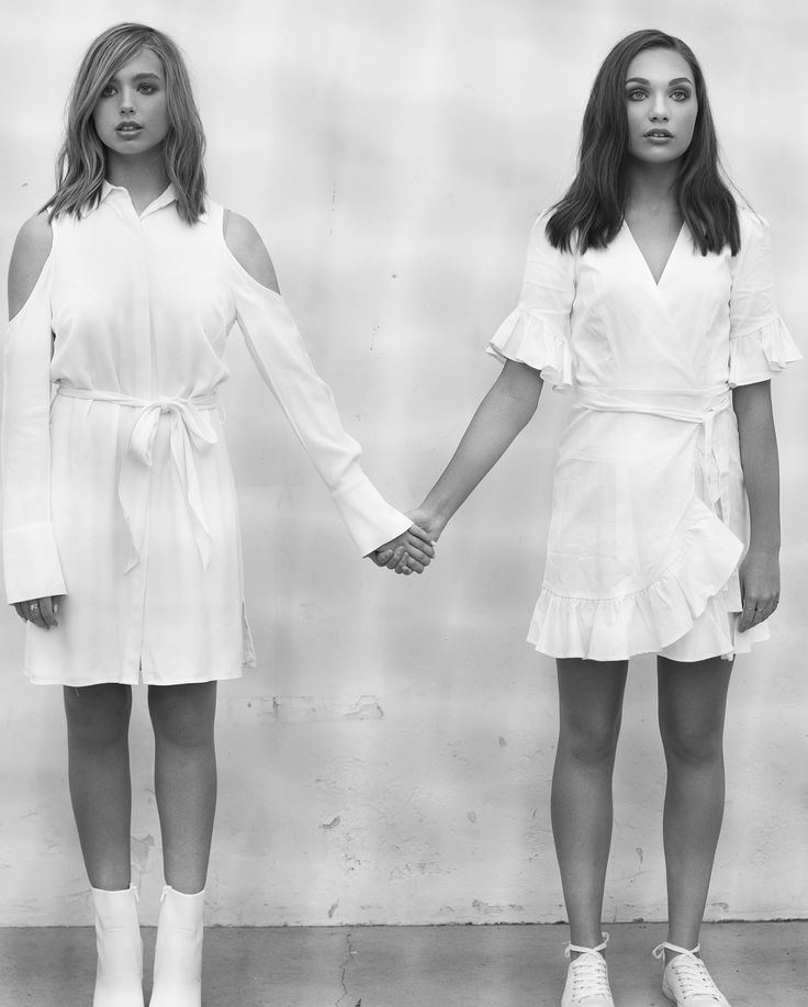 Lilia Buckingham and Maddie Ziegler