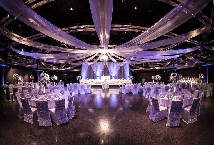 The Ballroom set up for a Wedding Reception - photo courtesy of Paul Mac Photography