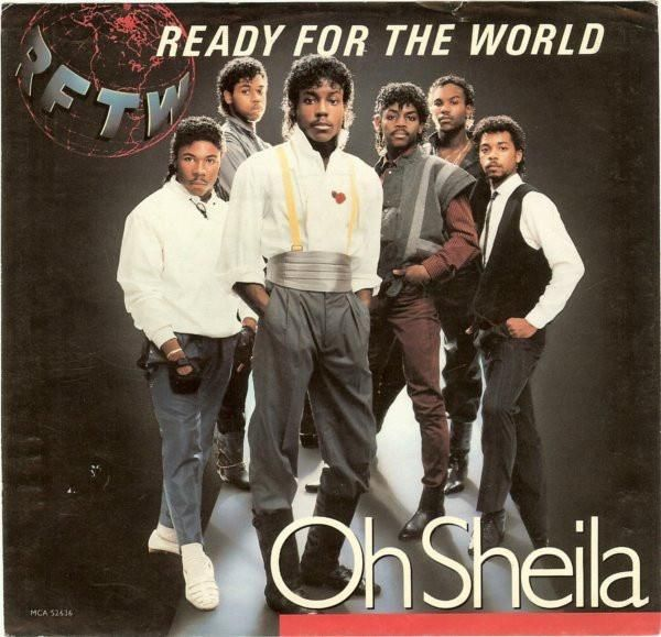 """Ready For The World * Oh Sheila / I'm The One Who Loves You 7"""""""