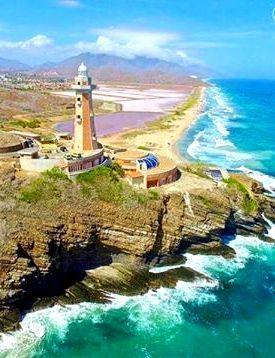 Faro Punta Ballena, Bahia de Pampatar, Isla de Margarita, Venezuela