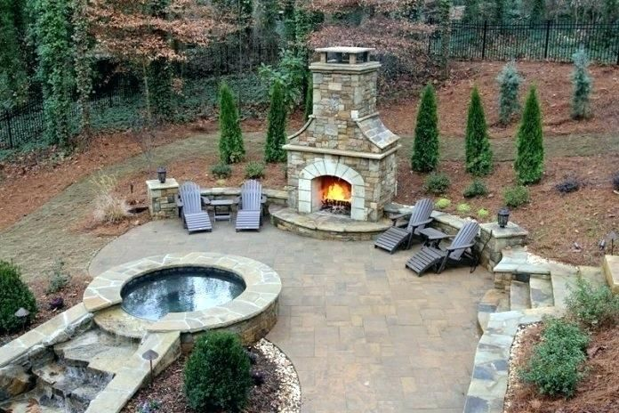 Rezultat S Izobrazhenie Za Rustic Stone Outdoor Ideas Outdoor Fireplace Outdoor Stone Fireplaces Backyard Fireplace