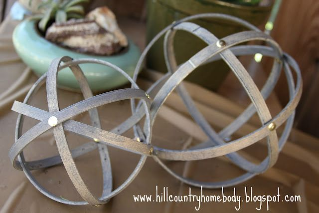 spheres made out of embroidery hoops...coolCreative Ideas, Diy Tutorial, Country Homebody, Decor Sphere, Diy Sphere, Diy Decor, Embroidery Hoops, Hills Country, Crafts