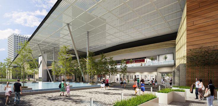 Esfera Monterrey|Zaha Hadid Architecs y Sordo Madaleno.  Primera Etapa Centro Comercial