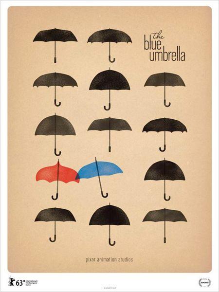 O Guarda-Chuva Azul : Poster