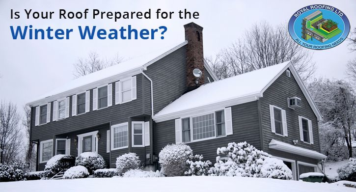 Is Your Roof Prepared for the Winter Weather? | Royal Roofing