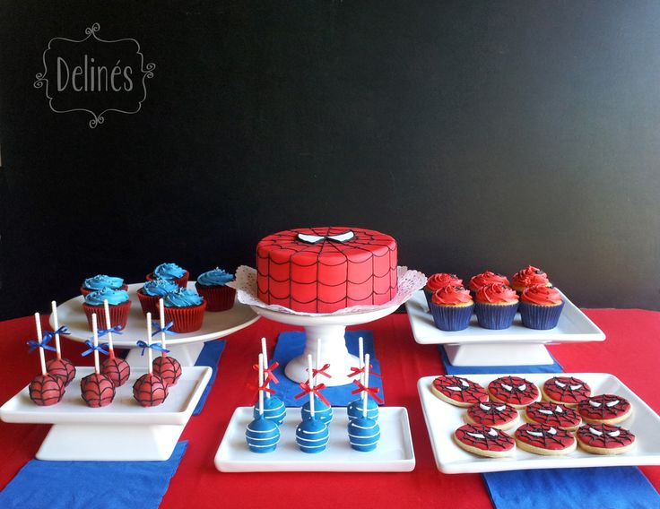 cumpleaños tematicos rojos - Buscar con Google