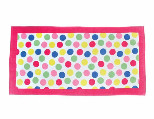 17 Best Images About Polka Dot Beach Towel On Pinterest