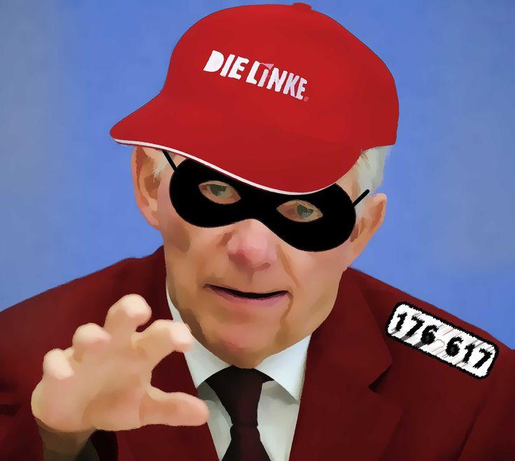 """❌❌❌ Inzwischen gehört es zum guten Ton in der bundesdeutschen Politik """"den Bürger"""" nach allen Regeln der Kunst zu verunglimpfen, als nicht gemeinschaftsfähig hinzustellen und auch sonst an allen Ecken zu diskreditieren, sobald er sich wahrnehmbar zu Worte meldet. Sicherlich ist Schäuble nicht der einzige """"Schlaumeier"""" aus dem Bundestag, aber einer der ruchlosesten unter diesen Deppen ist er schon. ❌❌❌"""