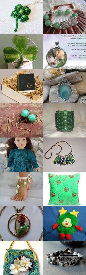 When Irish Eyes are Smiling by Jo-Ann Freburger on Etsy--Pinned+with+TreasuryPin.com