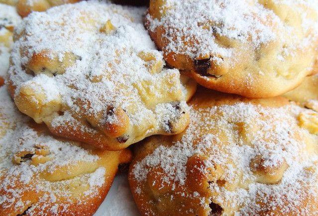 Быстрое печенье из яблок…