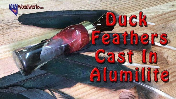 Duck Feather & Alumilite Duck Call | Dunkin Junk