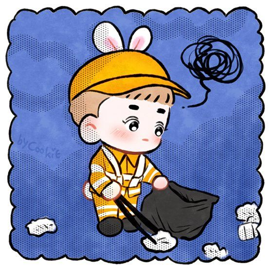 #Fanart #Suho #EXO Cr.yooocookie