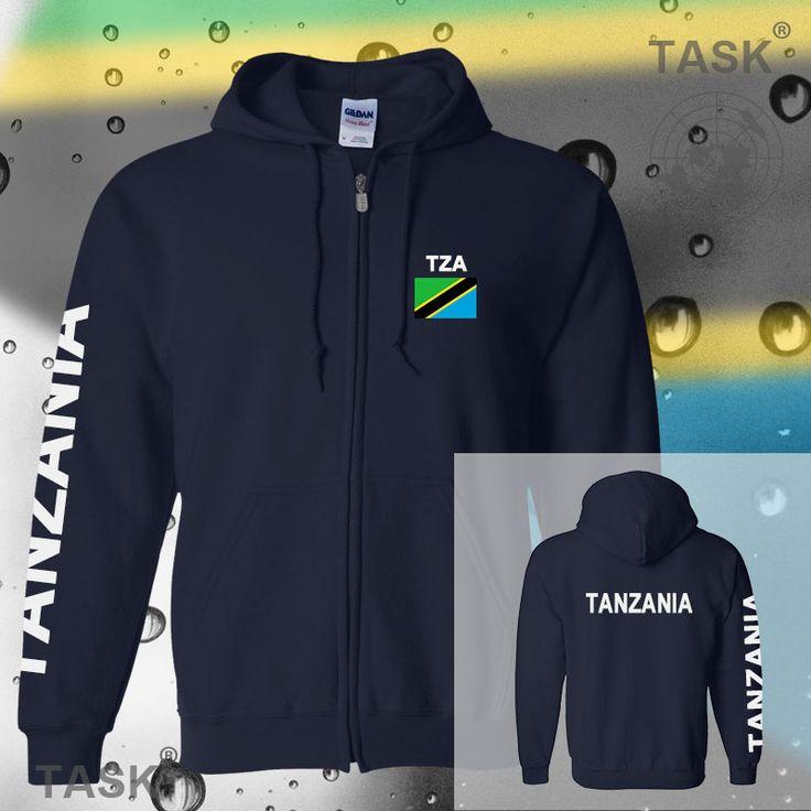 >> Click to Buy << Tanzania Tanganyika Tanzanian mens hoodies and sweatshirt casual polo sweat new streetwear tracksuit nations fleece zipper flag #Affiliate