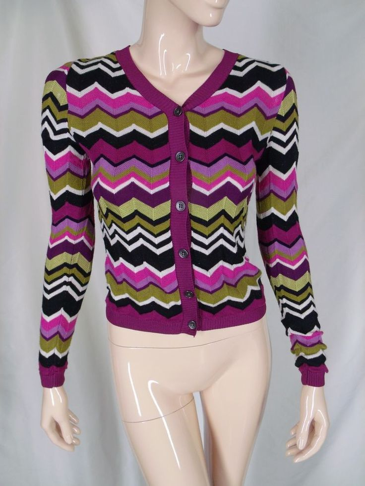 Missoni for Target   Striped cardigan sweater, Striped ...