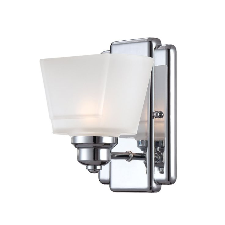 Great Shop Designers Fountain 6671 CH Metropolis 1 Light Wall Sconce/Bathroom  Light At Pictures