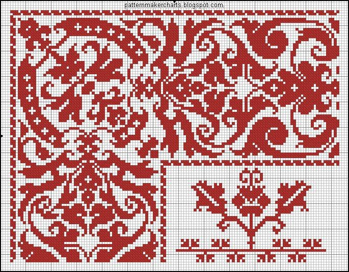 Best images about cross stitch flowers patterns on