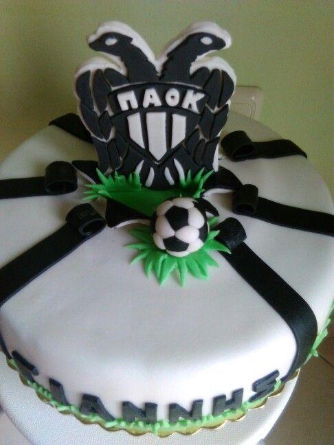 # paok fc cake!