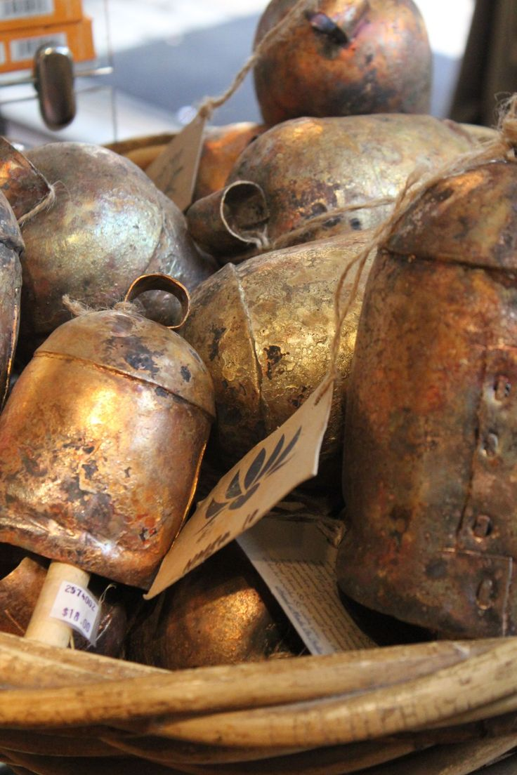 Inspired Collecting: Cow Bells