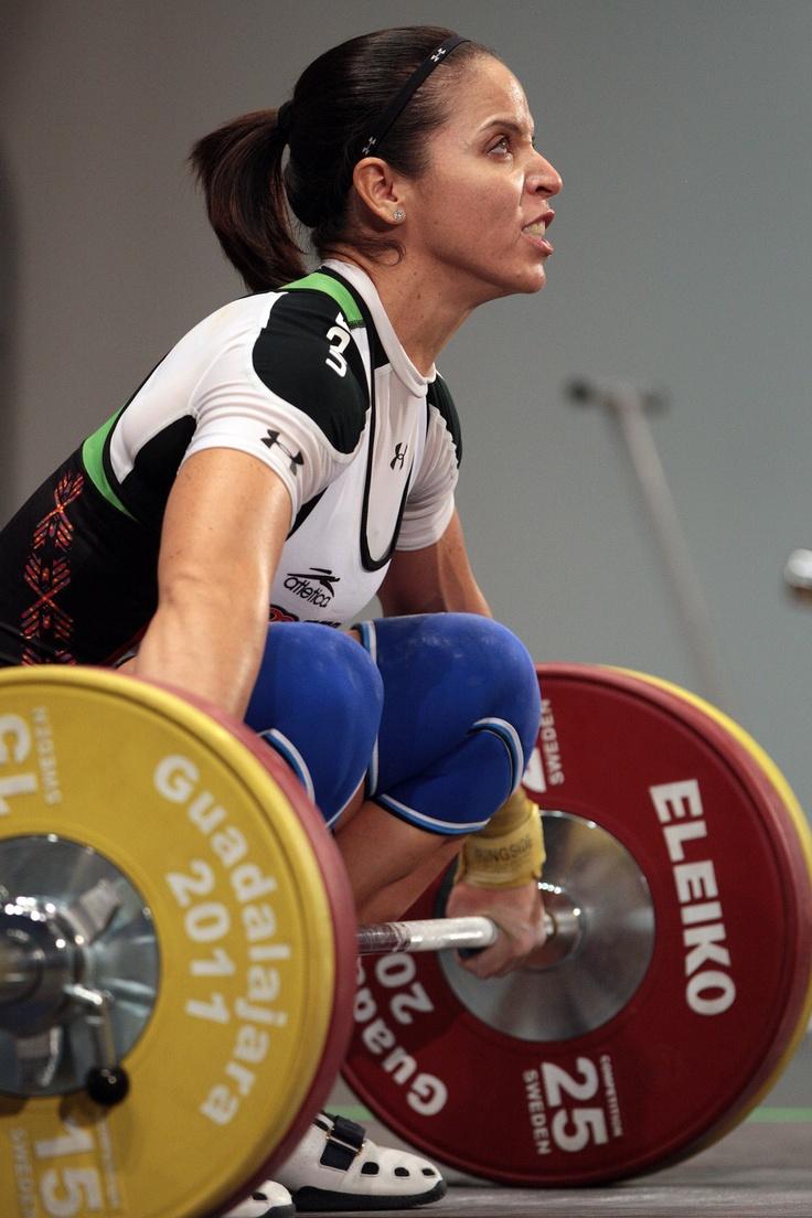 Luz Acosta, Mexican Olympic weightlifting competitor  POR FIN DESIGNADA PARA REPRESENTAR A MEXICO