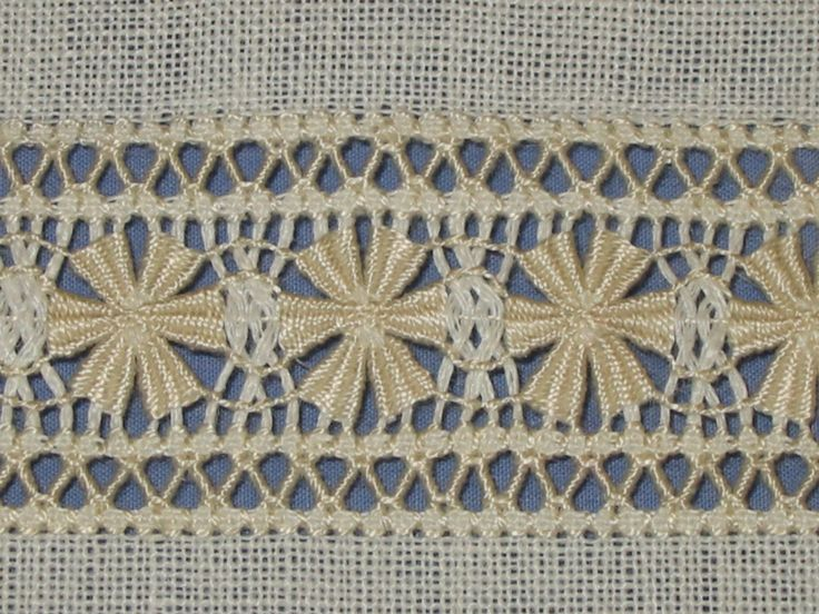 drawn thread embroidery sampler band 5