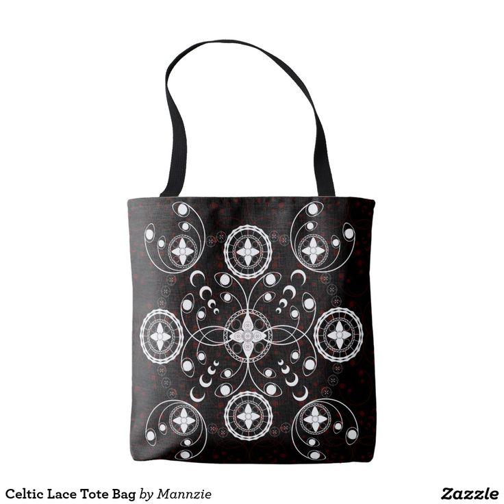 Celtic Lace Tote Bag