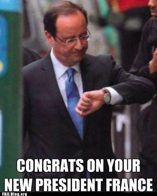 Francois Hollande Epic Fail