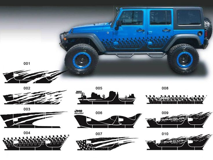 52 Best Jeep Decals Images On Pinterest Jeep Decals