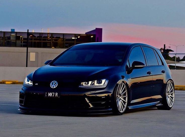 Black/Lapiz Blue Mk7 Golf R Picture Thread