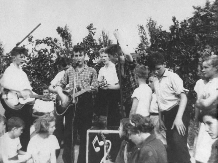 The Quarrymen perform at the Woolton Parish Church Fete - The Beatles Archive  The fateful day that John met Paul!  :-)