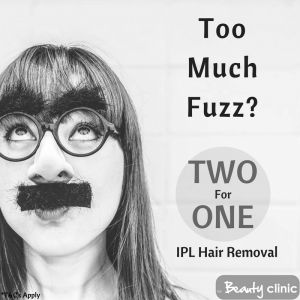 The TRUTH about IPL Hair Removal – The Beauty Clinic Buy ONE Area of IPL Hair Removal Receive another Area FREE!