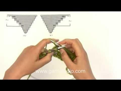 Örgü İle Şal Başlangıcı Nasıl Yapılır-Şal Başlangıcı - YouTube