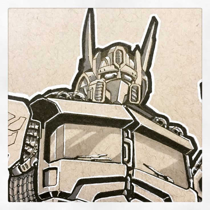 Close up of prime ( fine liner & copic marker on tonal )