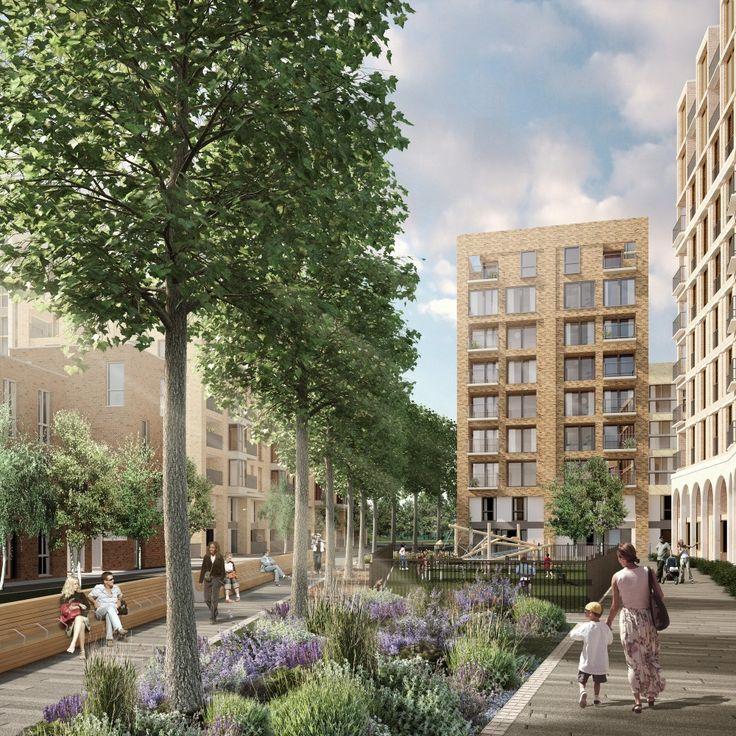 HTA Design to Lead Regeneration of Aylesbury Estate in London