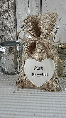 100-Personalised-Hessian-Wedding-Favour-Bags-Burlap-Rustic-Gifts-Heart-Favors