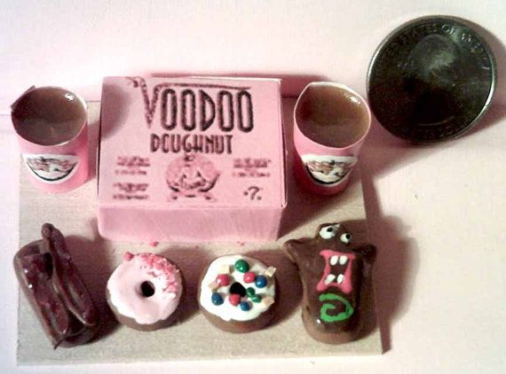 Barbie Sized Voodoo Donuts Menu Board by theartisttreehouse