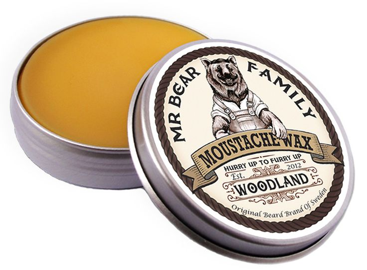Wosk do wąsów Woodland Mr Bear Family #beard #beardcare #BeardManPL