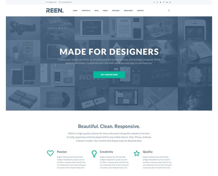 REEN is a free creative PSD portfolio website template, built around Bootstrap 3. This pixel perfect PSD template is designed at 1920 px width and is based on Boostrap Grid System. The PSD file is beautifully organized in layers, which are fully editable. The template includes hover and on scroll states as well. The designer […]