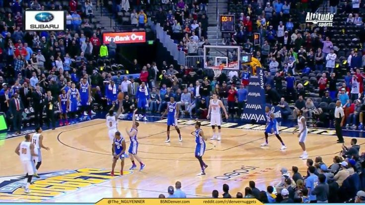 76ers Beaten At The Buzzer By Ridiculous Emmanuel Mudiay Heave