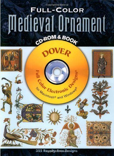 Trees and Leaves CDROM and Book Dover Electronic Clip Art
