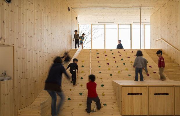 室内全体がまるで遊具。栃木の保育所「すみれチャイルド」に迫る(画像提供:アトリエ慶野正司一級建築事務所)