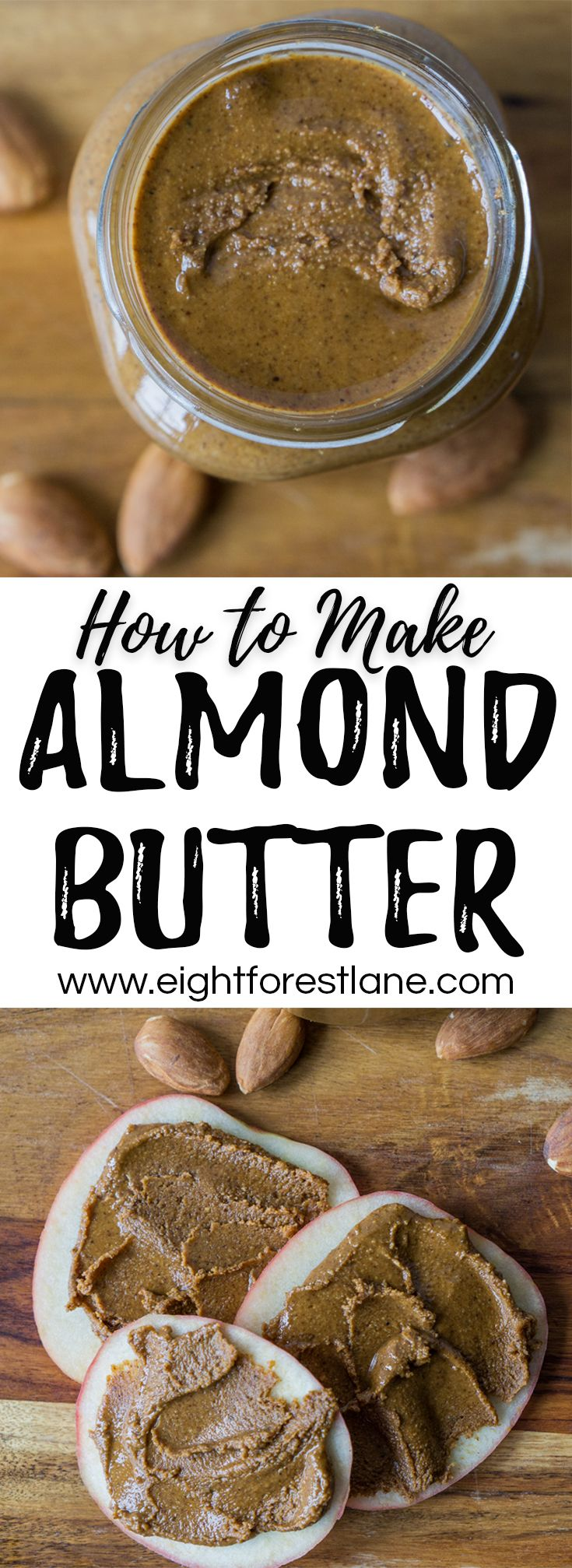 How to Make Almond Butter + Video