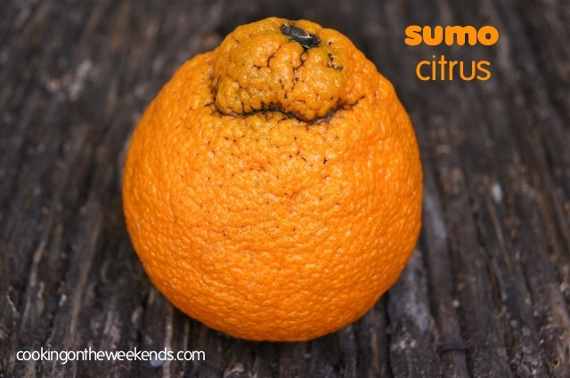 Introducing Sumo Citrus | Cooking On The Weekends--yummy! I'm in love with them. Eat them quickly and really look them over in the store!