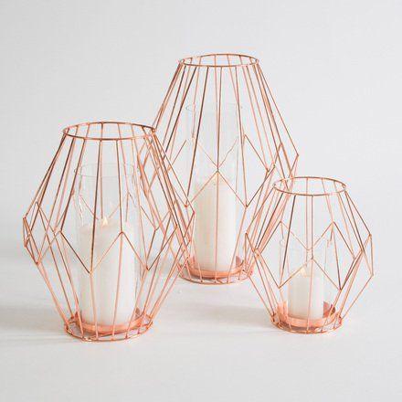Copper Lantern: