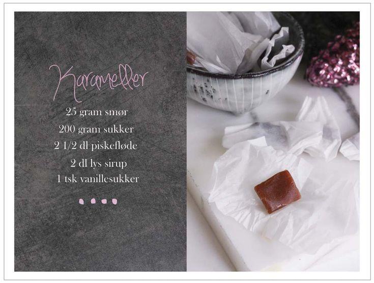 Opskrift: hjemmelavede karameller