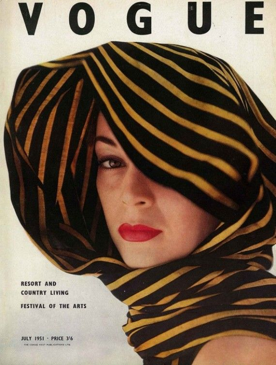 Vogue cover - July, 1951 issue